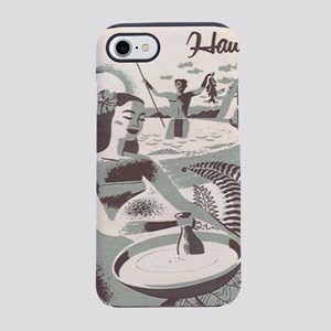 Maui, Hawaii Vintage Travel Po iPhone 7 Tough Case